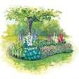 Гостиница Балтия - иконка «сад» в Вышнем Волочке
